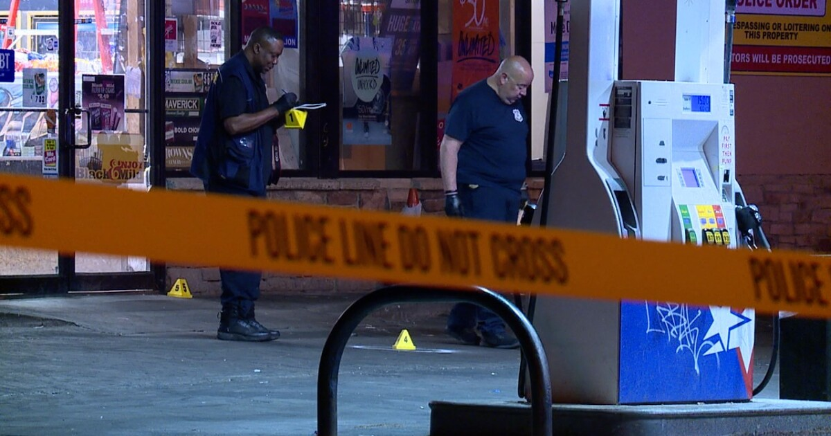 23-year-old man found shot, killed after shooting at gas station in Cleveland's Forest Hills neighborhood