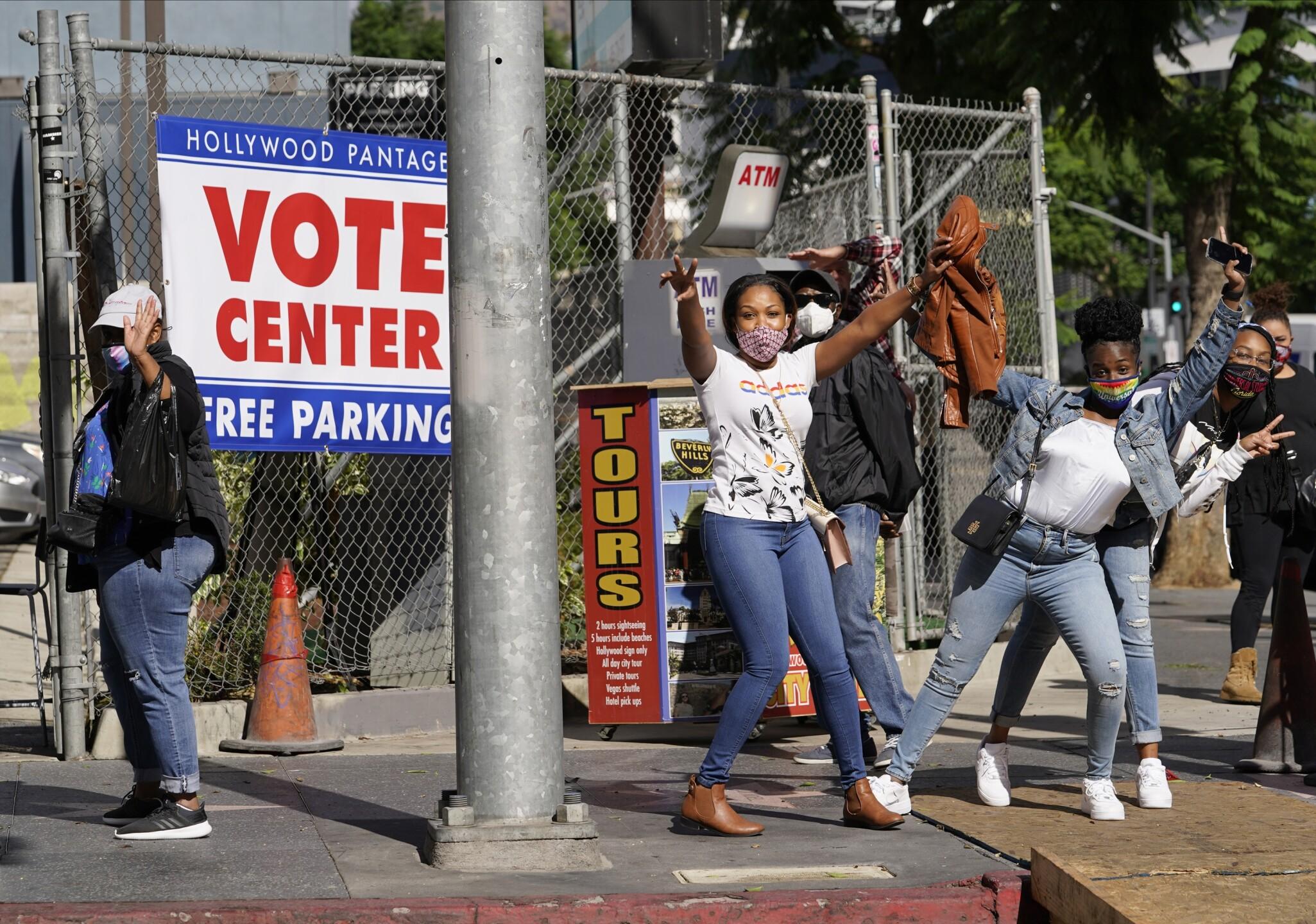 Election 2020 Los Angeles