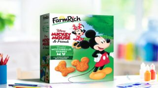 Buy Frozen Mozzarella Bites Shaped Like Mickey And Minnie Mouse