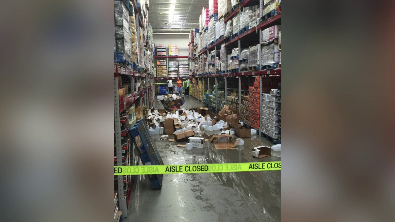 3-year-old struck by falling groceries in Sam's Clubhospitalized