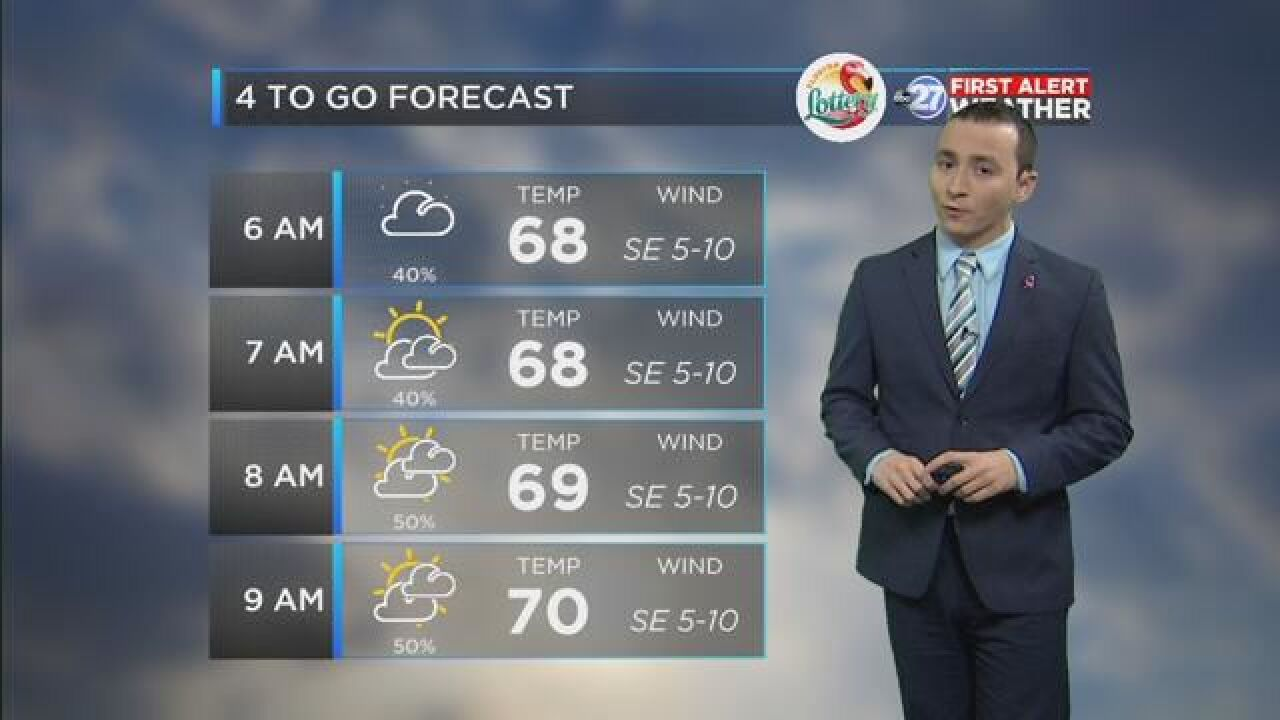 First Alert 4-to-Go Forecast: Oct. 26, 2018
