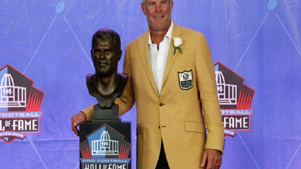 Favre's spot in Hall of Fame centered around his father