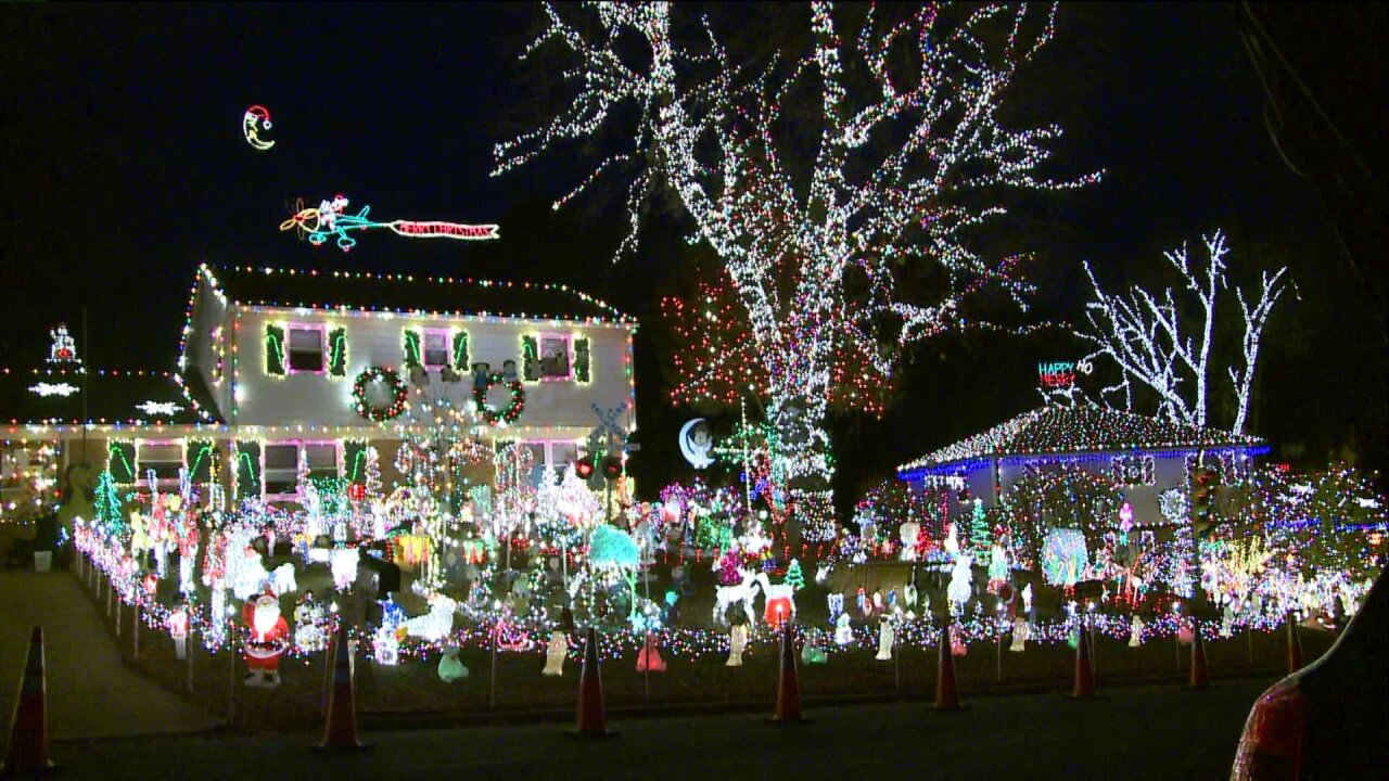 How a local home earns Tacky Lights Tour status