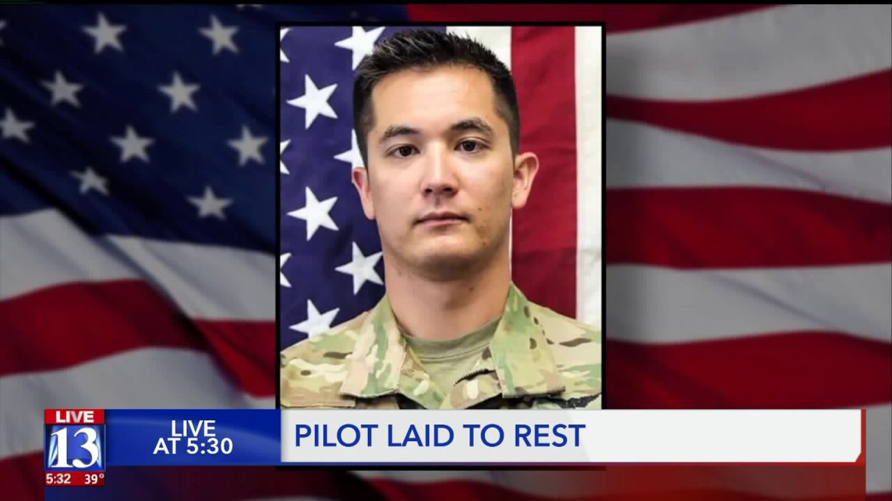 'Something bigger than himself': friends, family and fellow pilots remember fallen Armypilot
