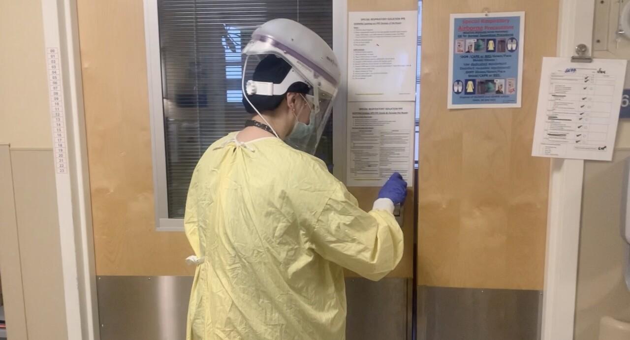 staff nurse at Milwaukee VA in the COVID-19