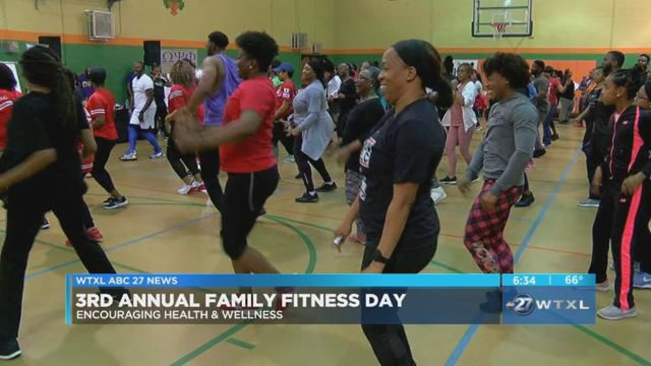 Local organizations join together for 3rd annual Family Fitness Day
