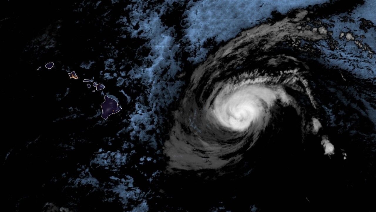 Hawaii prepares for high winds, rain as Hurricane Douglas nears