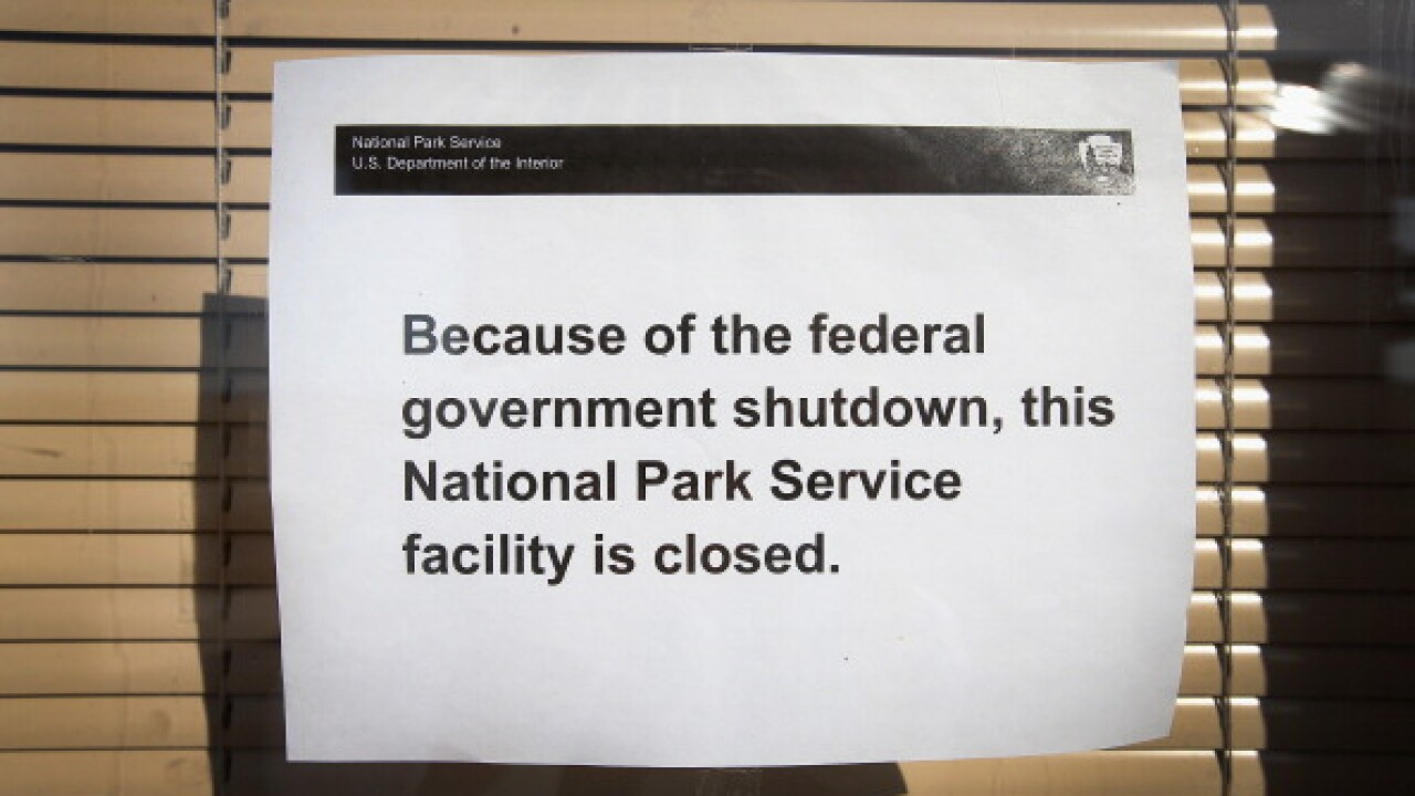 Badlands National Park Closed Due To Government Shutdown