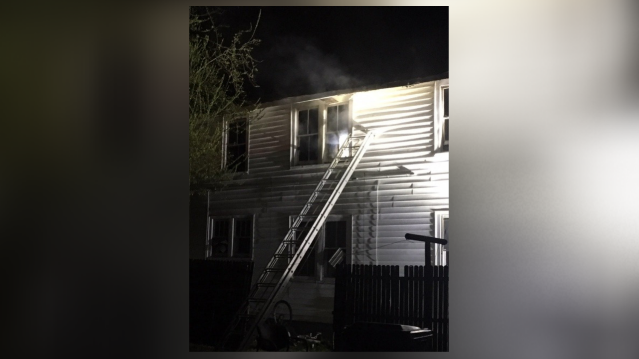 Seven children, three adults displaced after Suffolk house fire