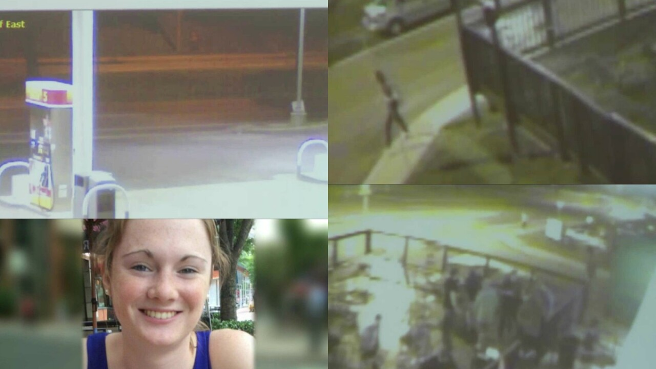 Police: Missing UVa. student Hannah Graham seen running past gas station, entering Downtown Mall