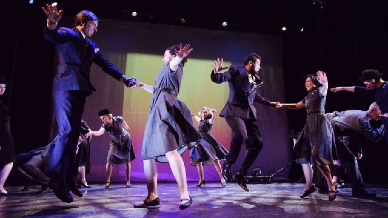 Dance, film and theatre mesh together in Stuart Pimsler's MATINEE at Wharton Center