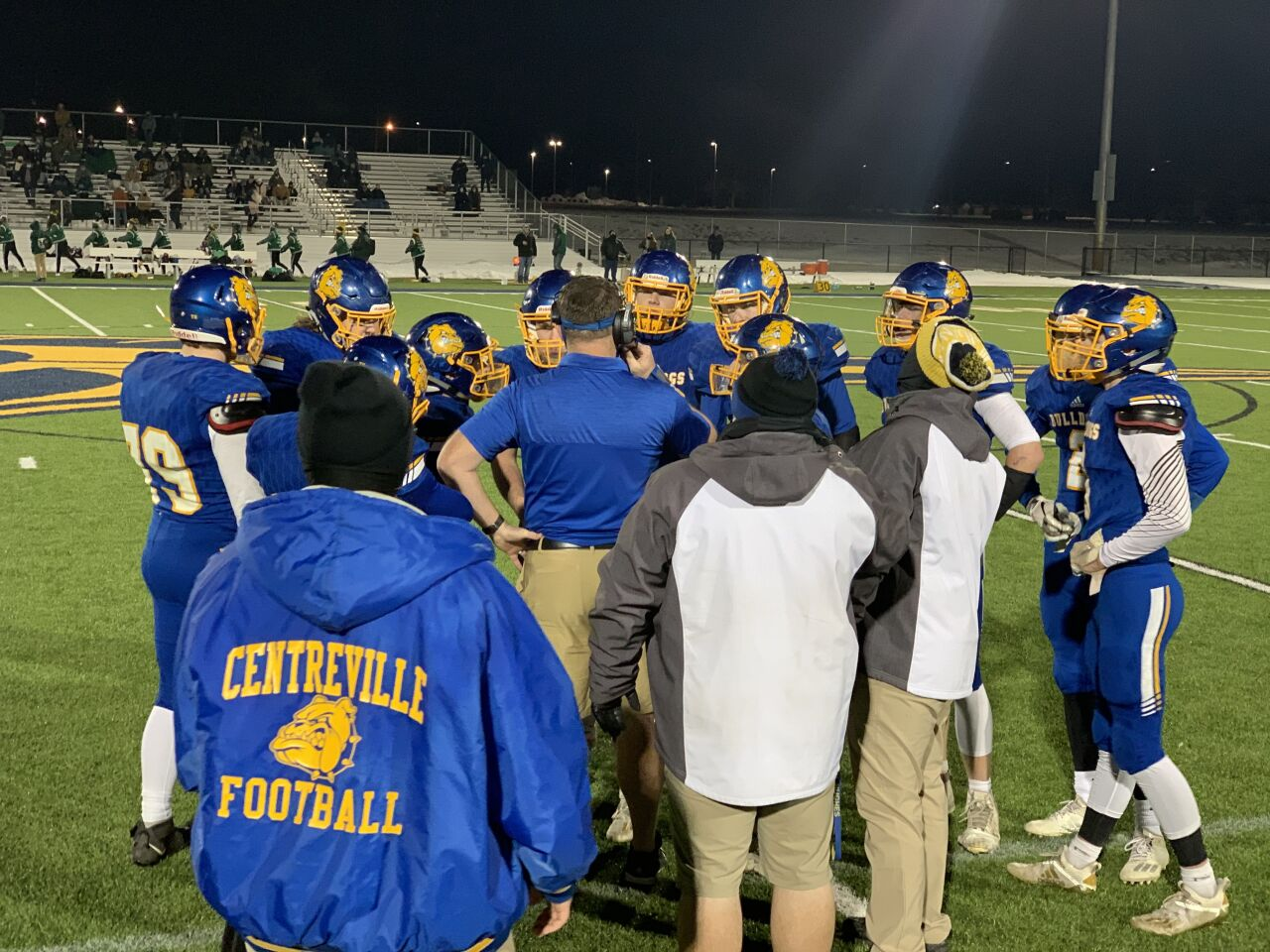 Centreville football prepares for the state semifinals