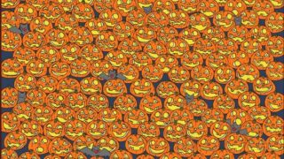 Find The Jack-o'-lantern With The Missing Nose