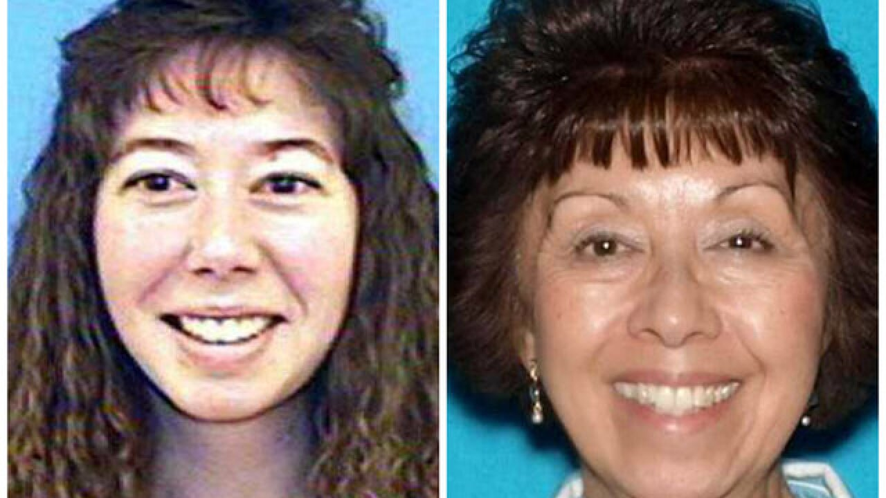 Deputies look for two missing women