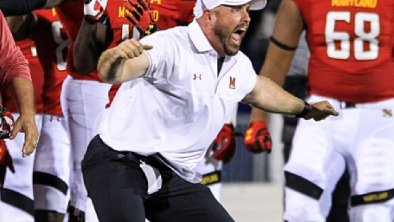 AP source: Maryland places strength coach on leave