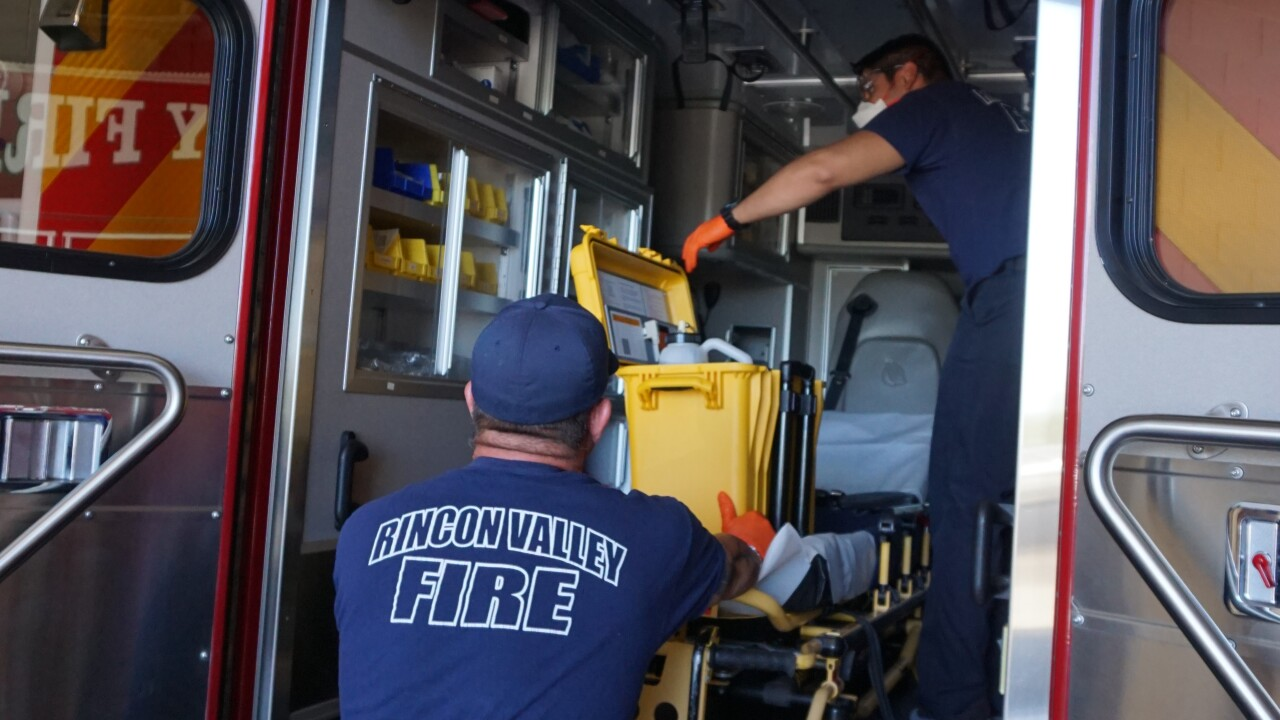 A grant from the Gary Sinise Foundation helped the Rincon Valley Fire District purchase specialized decontamination equipment to fight the spread of COVID-19.