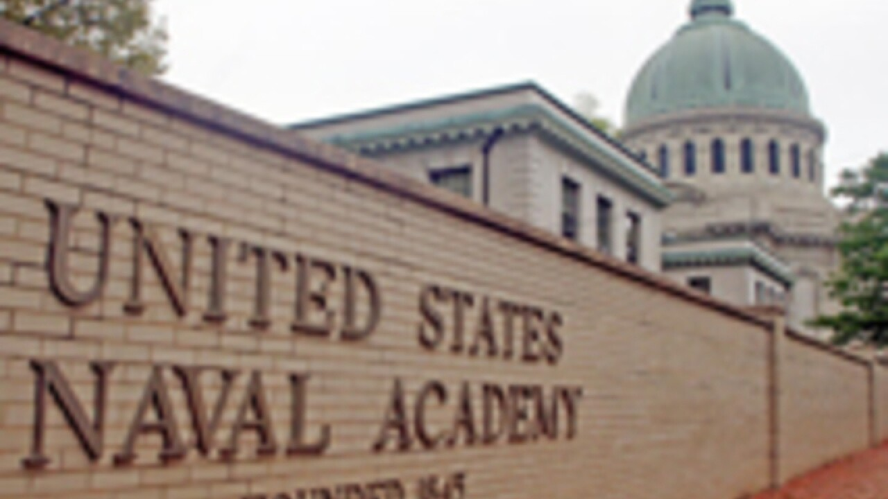 All clear after suspicious envelope found at Naval Academy