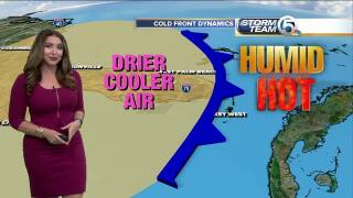 Wednesday's Weather Word: Cold Front