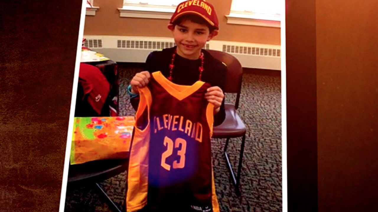 Young Cavs fan with heart of gold gets surprise