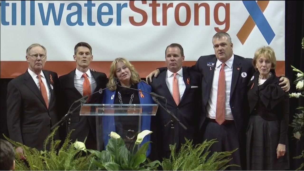 Stillwater Strong: OSU Memorial Service