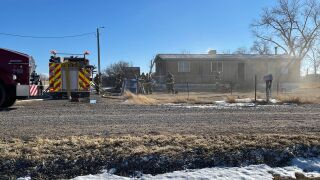 Emergency crews are at the scene of a reported fire on the southwest side of Great Falls.