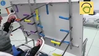 Tetraplegic man walks with the help of brain-powered robotic suit