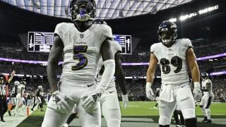 Ravens Raiders Football