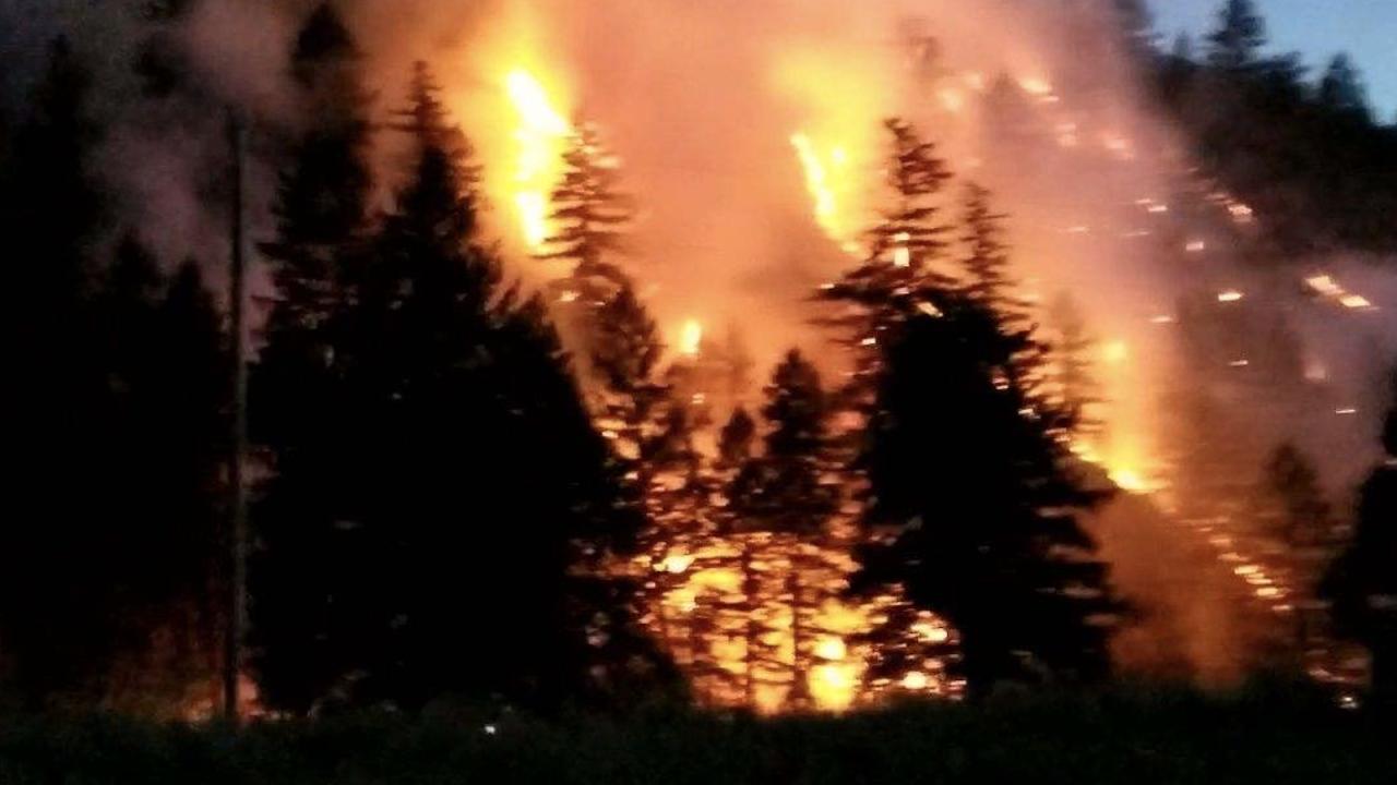 Cleark Creek Fire