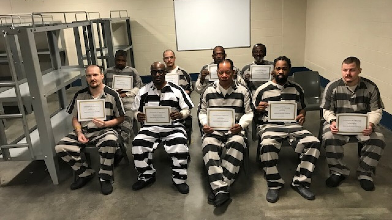 First class graduates from Addiction Recovery Grant Program at the Norfolk City Jail