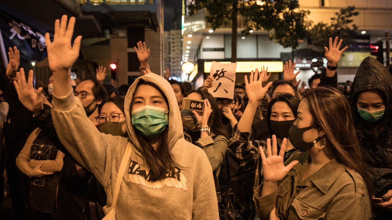 Landslide victory for Hong Kong pro-democracy parties in de facto protest referendum