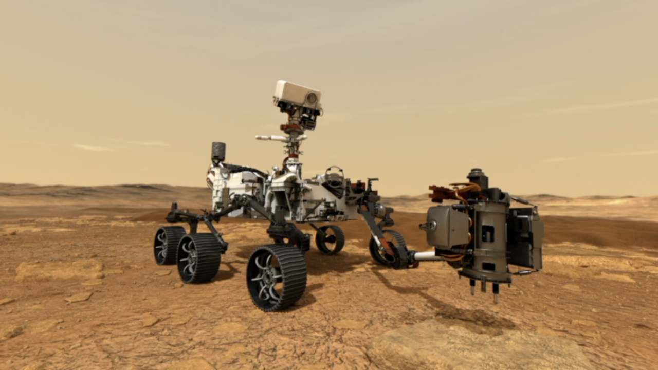 Mars Perseverance Rover Simulation