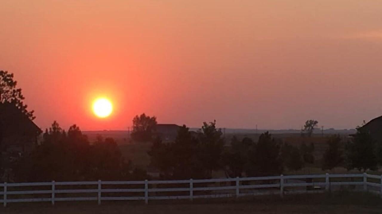 Chris Meier Peyton smoky sunset