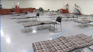 Power outage forces cold weather shelter location change