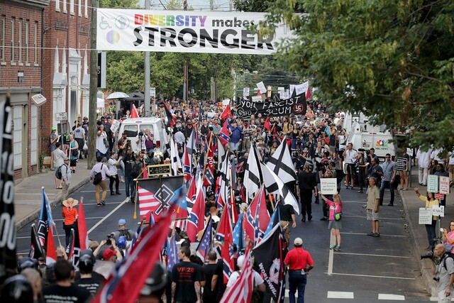 Photos: Chaos in Charlottesville, Virginia as white nationalists rally
