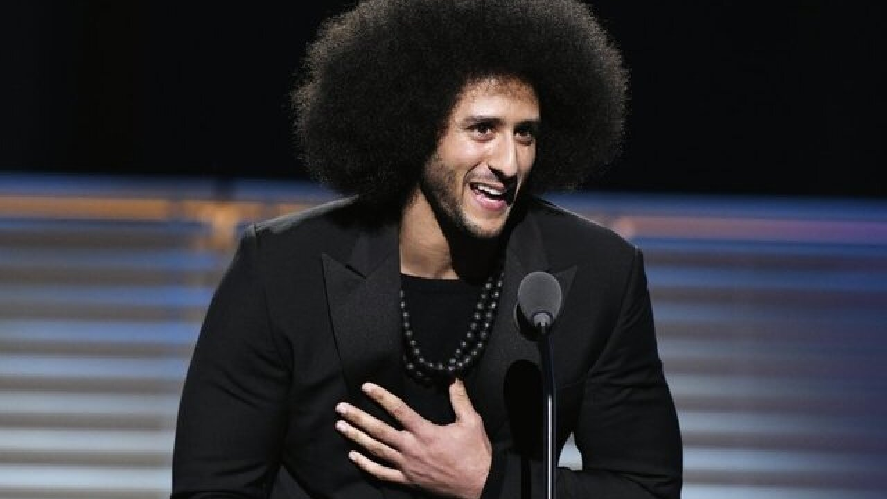 Harvard black culture awards to honor Colin Kaepernick