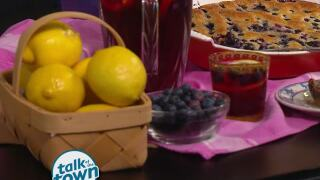 Lynne Tolley's Blueberry Honey Lemonade
