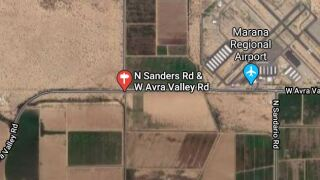 Pima County Sheriff's deputies investigated a wreck that shut down Avra Valley Road in both directions Monday.