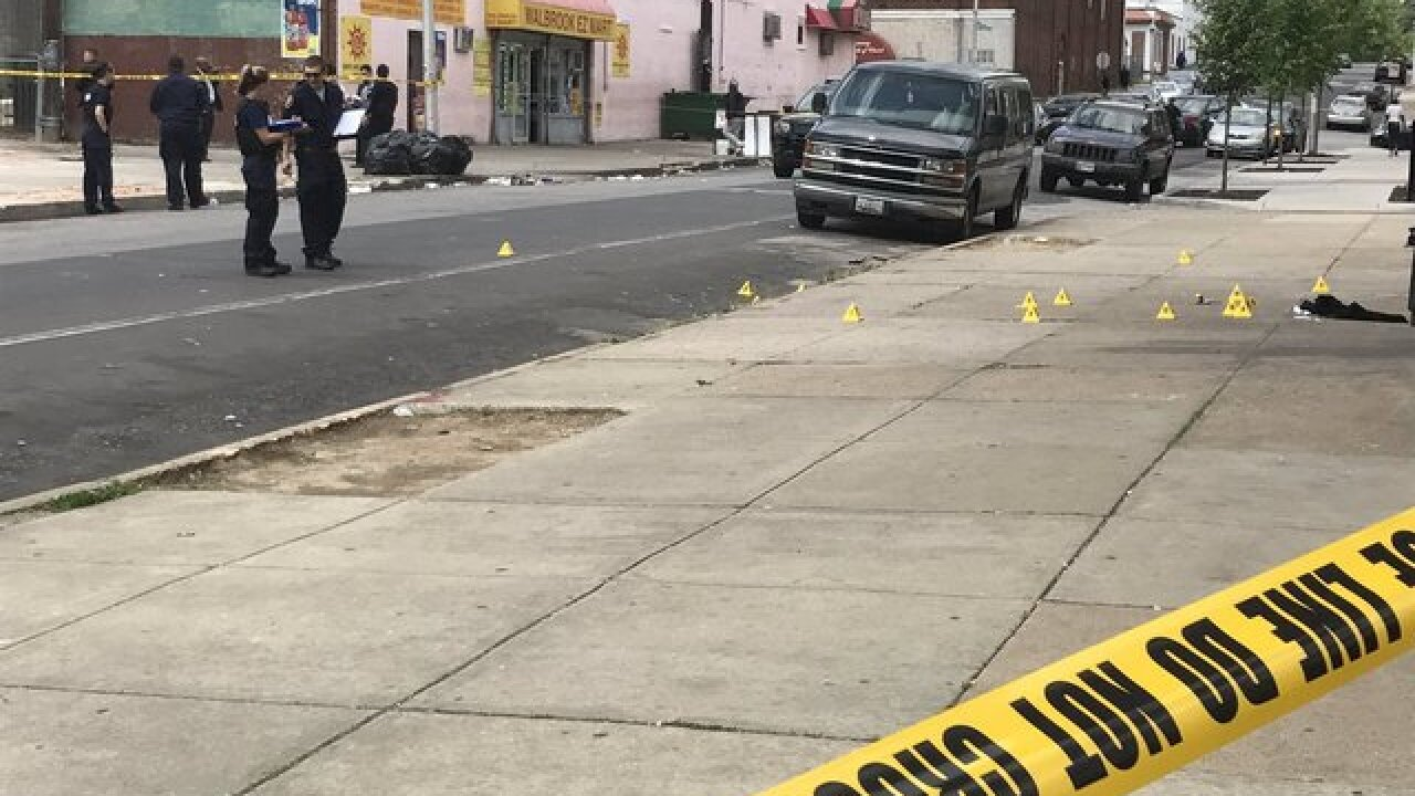 City police investigate man shot in southwest Baltimore Monday