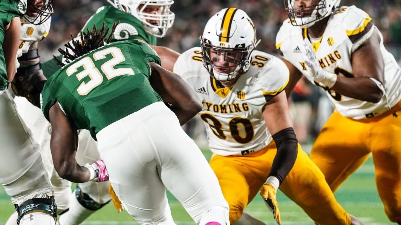 Wyoming Cowboys' Logan Wilson named to Butkus Award watch list