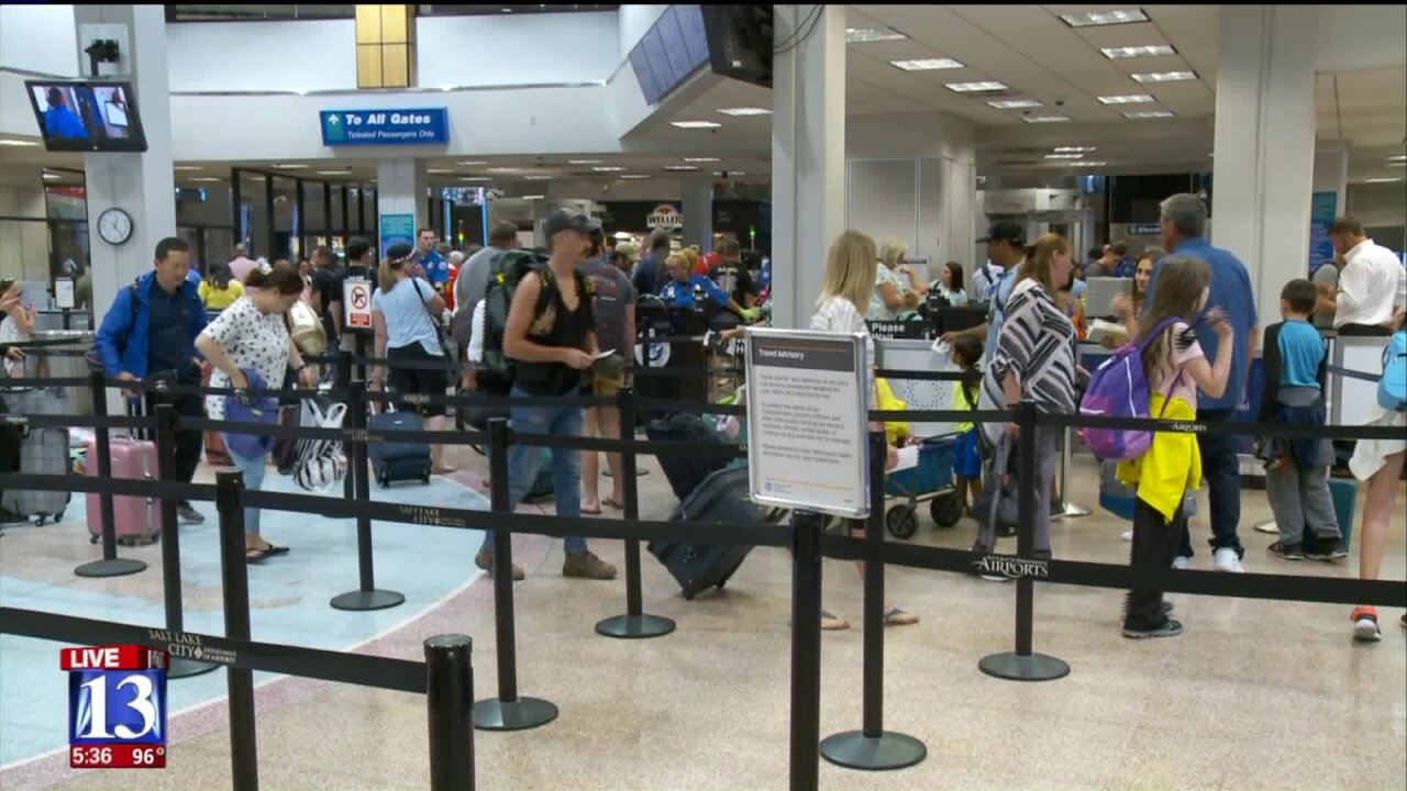 Airport traffic up, SLC International Airport now ranks as 23rd largest airport