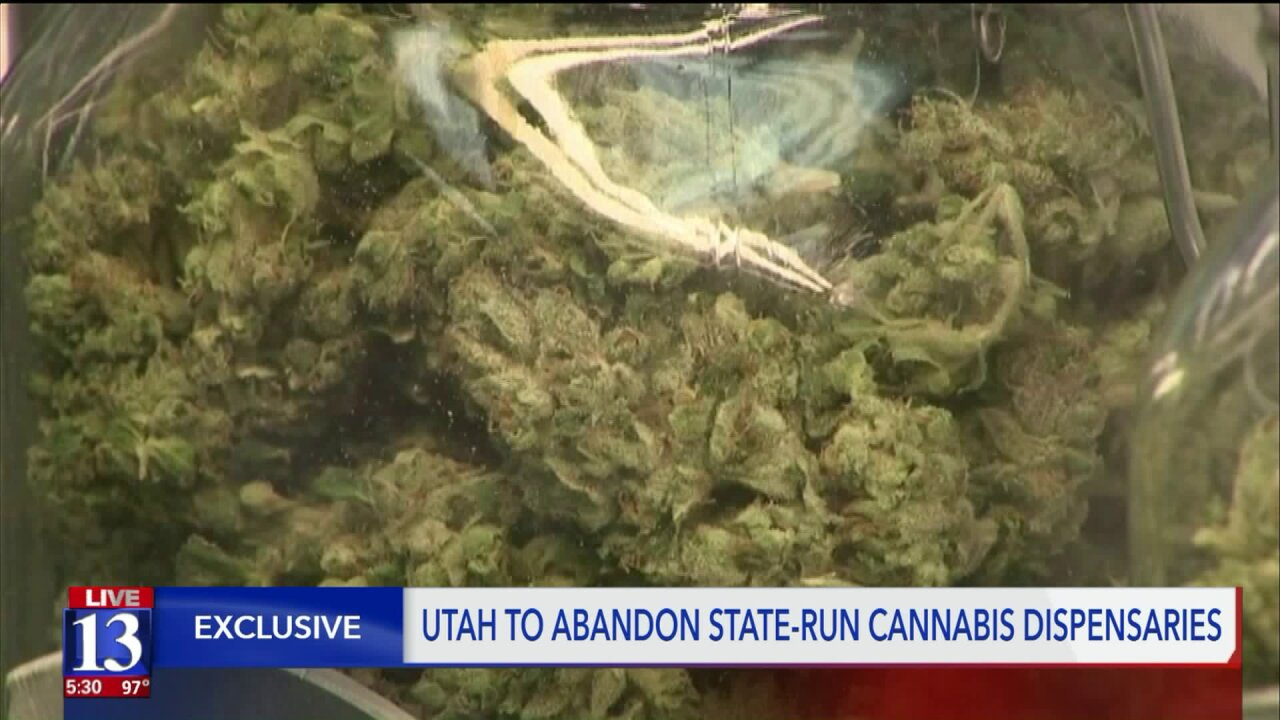 Utah to abandon state-run medical cannabis dispensaries