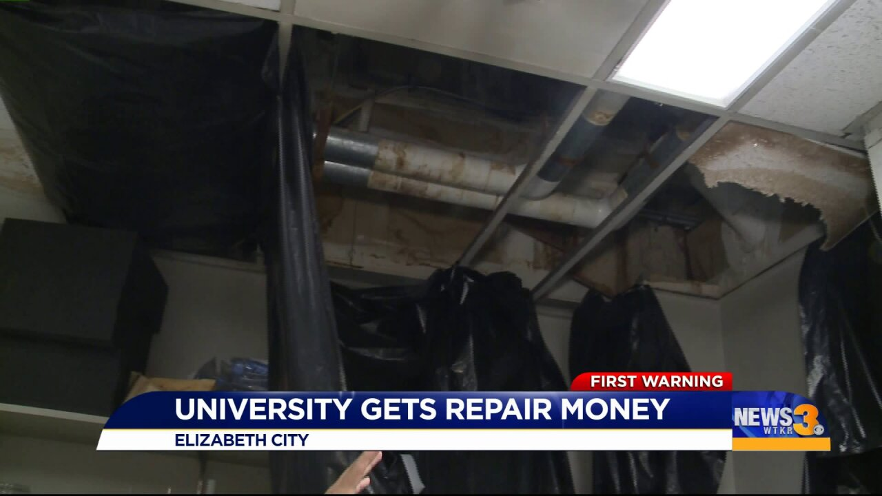 University gets state aid to repair Hurricane Doriandamages