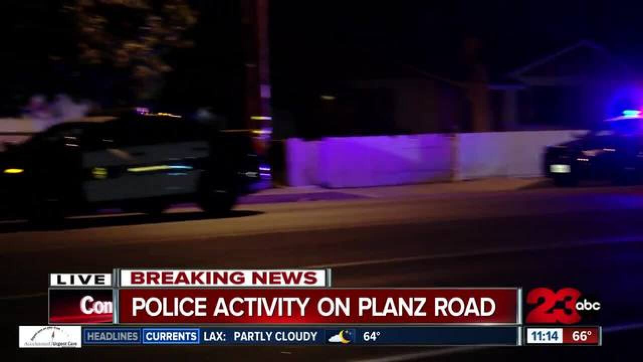 Officer involved shooting in South Bakersfield