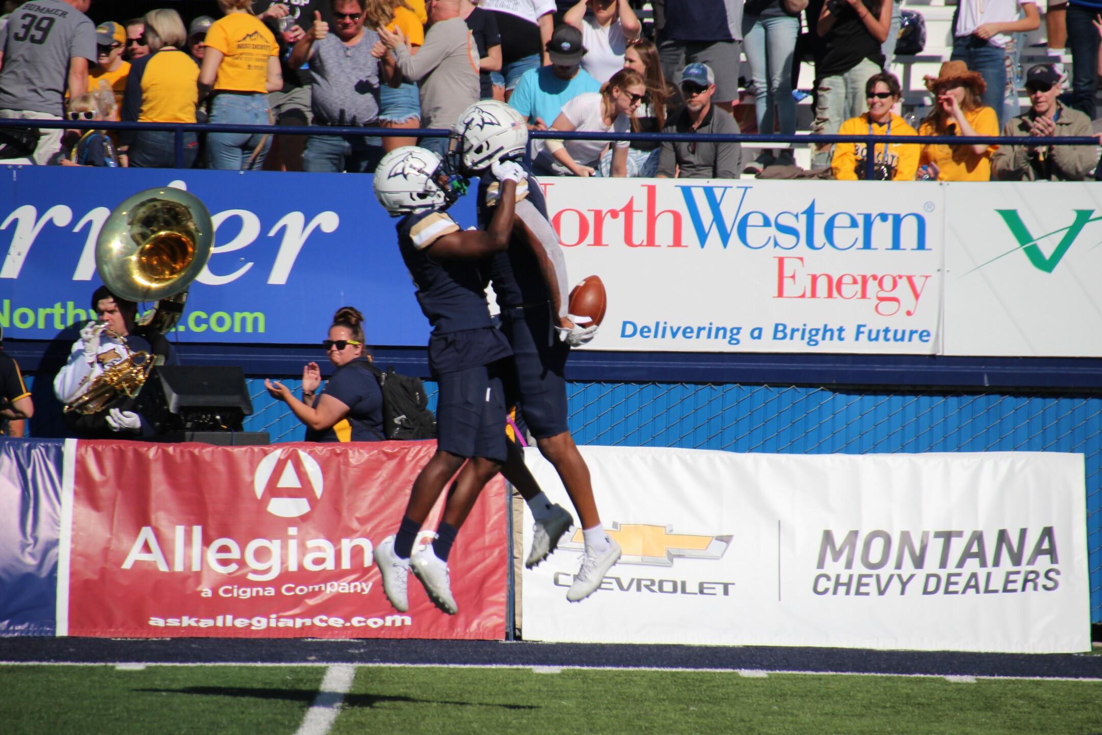 Zambrano celebrates interception