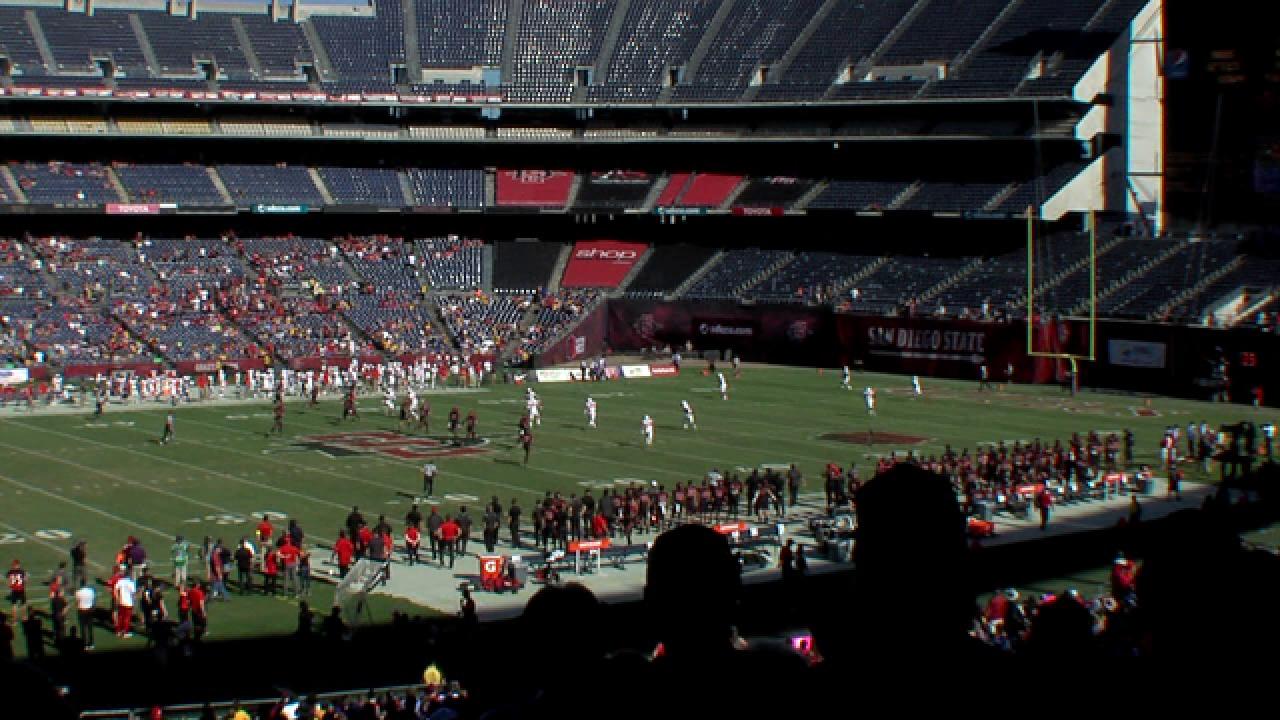 Aztecs finish football season with victory