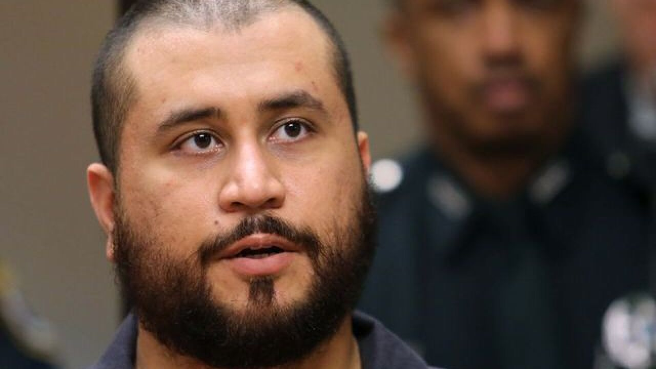George Zimmerman charged with stalking