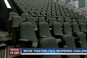 Movie Theaters Face Reopening Challenges