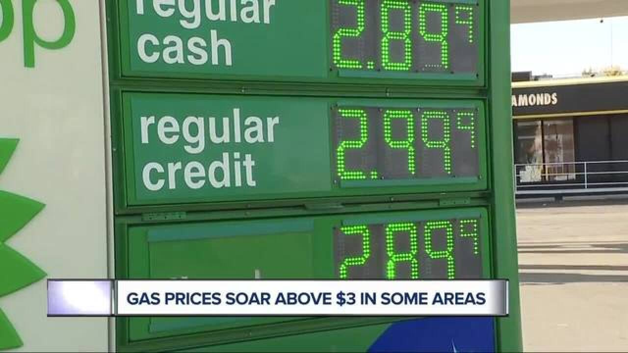 Michigan gas prices may rise to highest since 2015