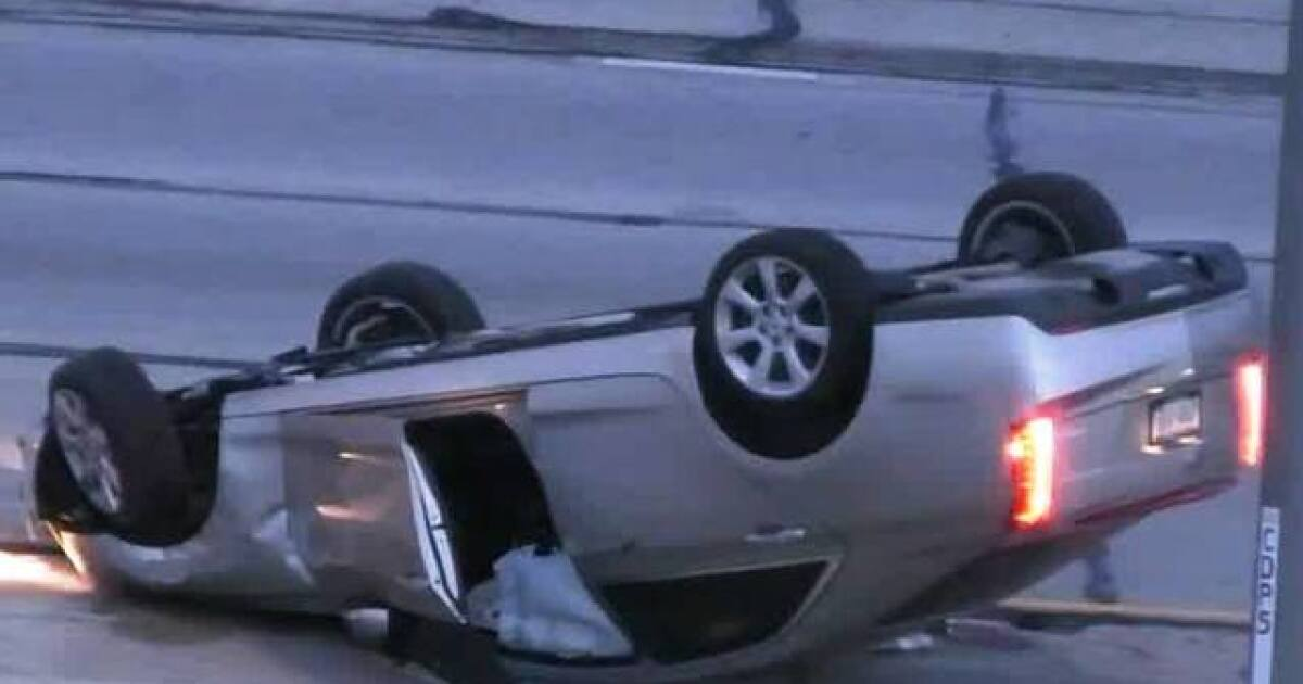 Milwaukee County Medical Examiner: 1 dead in rollover crash on I-41