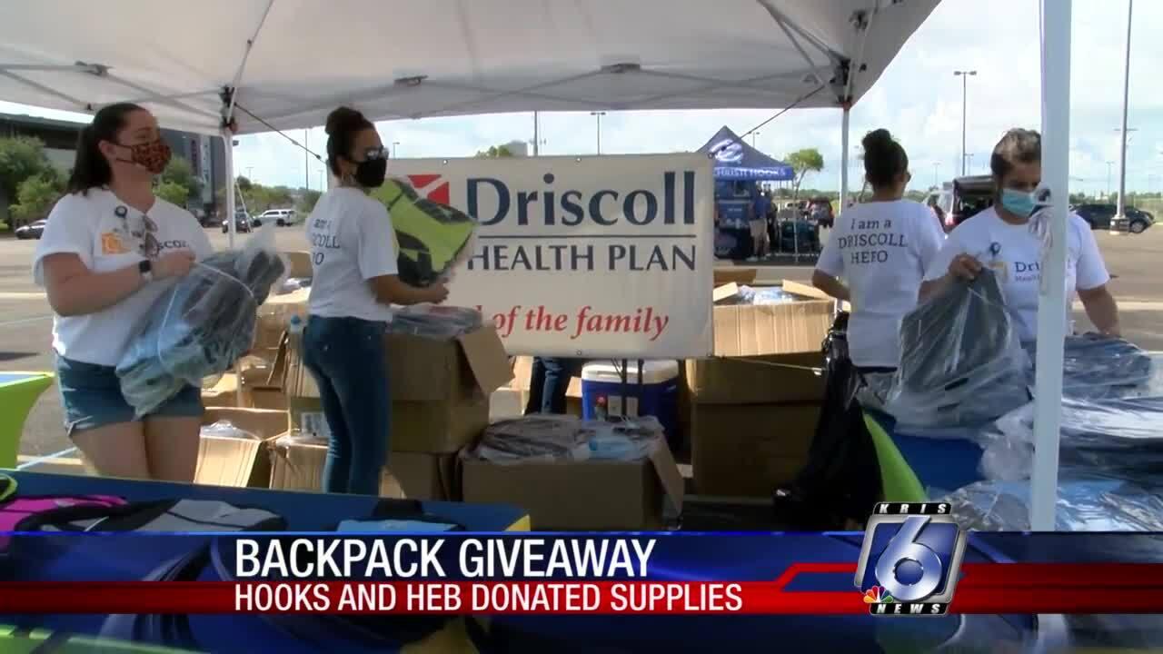 Driscoll-Health-Plan-backpacks-school-supplies-students